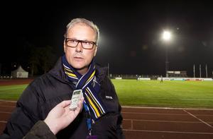Paul Myllenberg är en pressad klubbchef för Ängelholm.