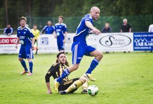 Erik Wästman är en bit från bästa form – men var vass nog hemma mot Korsnäs.
