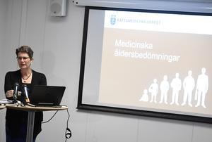 Monica Rodrigo, generaldirektör för Rättsmedicinalverket.