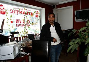 Shahed Bhuiyan ska öppna Curryhouse i pizzeria Atlantics gamla lokaler i Timrå.
