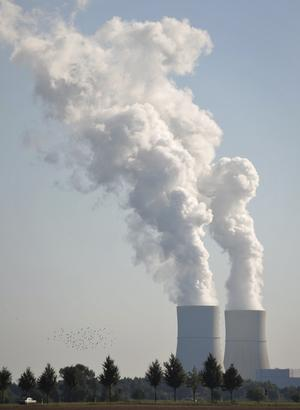 Utsläppsvärsting. Kolkraftverk i Tyskland. Foto: TT