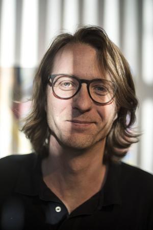 Konstnären Lennart Samor.