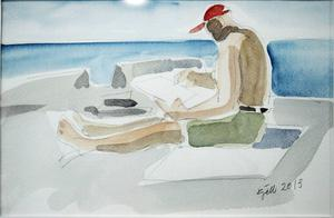 ...och avslappnade porträtt och personbilder av Kjell Nilsson Mäki...