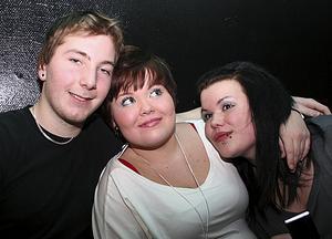 Konrad. Freddy, Tiina och Amanda