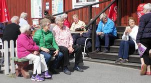 Välbehövlig vilopaus i Mellanfjärden i väntan på hemfärd.