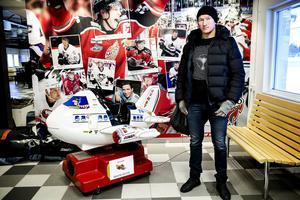 I går eftermiddag landade Marcel Hossa i Örnsköldsvik. Trött men laddad.