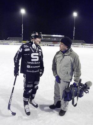 Frilansfotografen Ulf Westergren filmade matchen mellan SAIK och Örebro i början av januari. Här berättar han för Magnus Muhrén om den olycksaliga träffen.