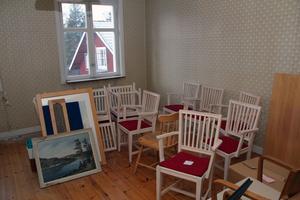Den tidigare personalbostaden ovanför församlingshemmet i Hosjö ska nu bli natthärbärget Vinternatt.