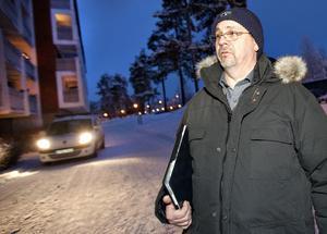 Lennart Nordstrand, miljöbrottsutredare vid Östersundspolisen.
