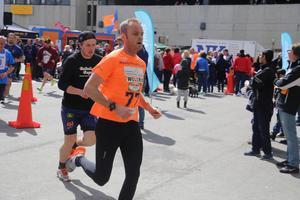 Lars Björklund satte fart direkt från start.