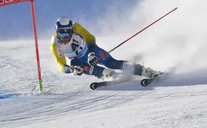 Sölden 161023Alpina världscupen herrar storslalomåk 1:André Myhrer fyra i sitt första åkFoto Nisse Schmidt