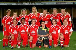 Sala FF får spela i division 3 igen. Bilden är från lagets seger i SA-triangeln på Tegelvallen i fjol. Foto: Mikael Stenkvist