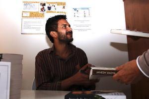 Janesh Vaidya besökte Söderhamn och gav sin syn på hur människor kan få ett bättre liv.