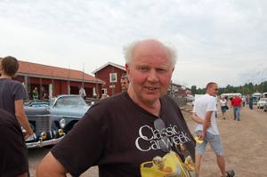 Roland Pettersson, idégivare till Classic Car Week i Rättvik.