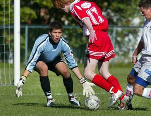IFK Sundsvalls unge målvakt Lennart