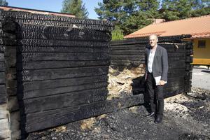 Branden påverkar inte elevernas skolstart som är i slutet av veckan.