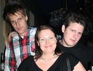 Blue Moon Bar. Anders, Linda och Daniel