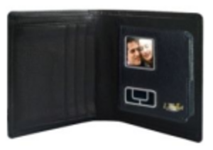 Digital bildvisare i plånboken