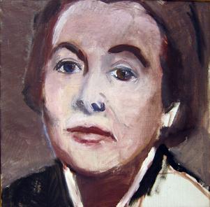 Karin Boye av Ulla Helenius-Reit.