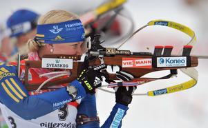 Helena Ekholm under en tävling år 2011.