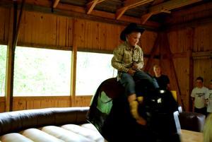Jakob Forsberg var inte rädd utan tog tjuren vid hornen, ungefär. Foto: Lina Svalbro