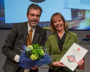 Christina Lampe-Önnerud får Motormännens utmärkelse