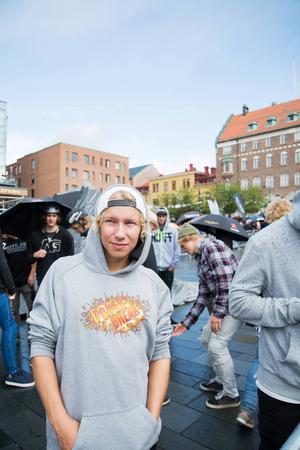 Simon Fastesson, deltagare i cykeltävlingen.