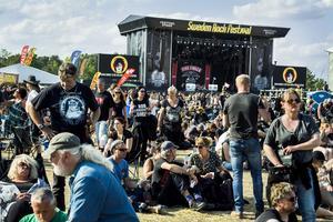 Sweden Rock Festival utanför Sölvesborg.
