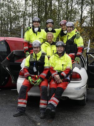 Magnus Rudberg, Emil Grip, Thomas Hansson, Mattias Björk, Karin Sognevik, Kalle Hållberg och Mats Nygren är gänget som ska tävla.