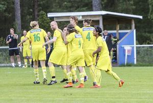 Magnus Ferm satte 0–1 ungefär direkt i andra halvlek.