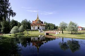 Thailändska paviljongen.