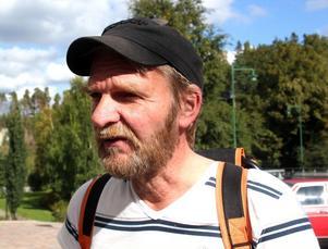 Kenneth Nordlander, Sollefteå:– Det har jag aldrig gjort, jag har inget intresse av det fast jag är med i kyrkan.
