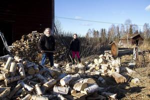 Kollektivet hade eget sågverk.