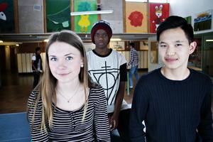 Tilda Åkesson Danielsson, Brian Meki och Munkheredene Munkhbayar är tre av de 94 elever som tävlar om 66 platser på Göranssonska skolan när de ska börja gymnasiet till hösten.