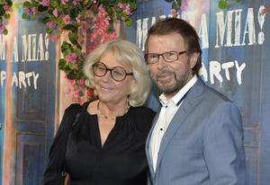 Björn Ulvaeus och Lena Källersjö.   Foto: Anders Wiklund / TT