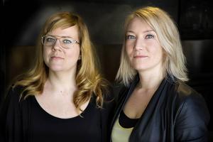 Susanna Carlsson och Elin Olofsson.