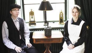 Patrik och Julia haft en dramatiserad rundvandring på Arboga museum. Nu har nya sommarjobbare tagit över rundvandringen som pågår till och med vecka 31.