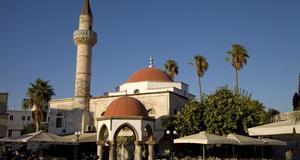 Kos stad bär ännu tydliga spår av den ottomanska tiden.