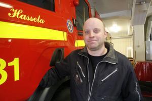 Mikael Högdahl, räddningstjänsten Hassela, hoppas att alla tar sitt ansvar för att få ett säkert och lugnt nyårsfirande.