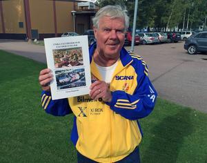 Göran Rogström kommer nu ut med ännu en bok med berättelser och bilder om gamla Falun.