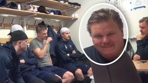 Leffe Carlsson blåste spelarna inför dold kamera. Foto: Skärmdump (Leksandsif.se)