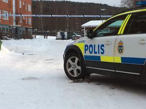 Enligt en av ST:s reportrar på plats var det flera polispatruller som rörde sig i området.