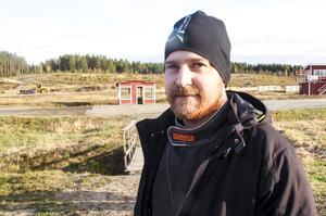 Micke Sundberg – nöjd segrare i Mittmedia cup.