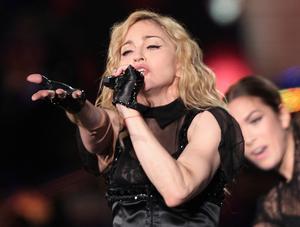 Madonna är en av artisterna på Christers lista.