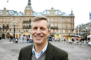 """""""Jag ser det inte som att vinna eller försvinna, jag ser det som en bra affärsmöjlighet för båda parter"""", säger Henrik Saxborn, vd för Castellum."""