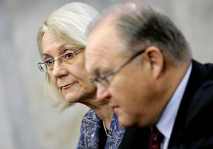 Dåvarande utrikesminister Laila Freivalds avgick 2006. Var hon före sin tid? Foto: Claudio Bresciani / TT