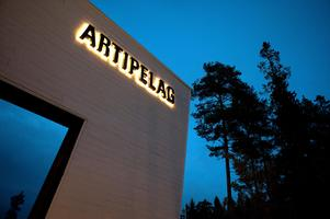 En skulpturutställning pågår i konsthallen Artipelags omgivningar. Foto: Dan Hansson / SvD / TT/Arkivbild.