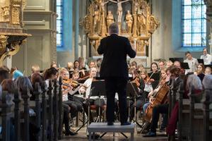 Trefaldighetskyrkan passar bra för stora orkestrar. Foto: Lennye Osbeck