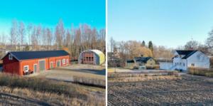 Dalvägen 6, Östervåla, har klickats mest under vecka 6. Foto: Emelie Larsson/Mäklarcentrum