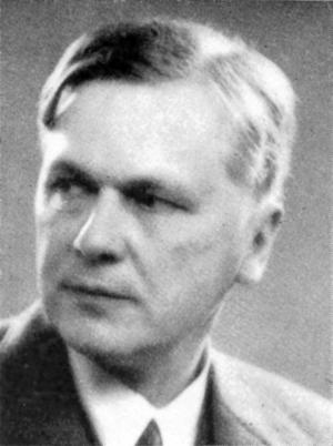 Gösta Bagge 1938. Foto: Okänd